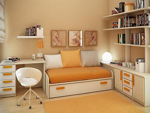 平米小户型卧室装修效果图设计案例(二)图片