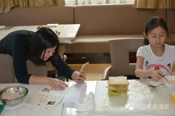 烹然心动亲子烹饪家乡系列作文两种三明治美食课堂美食的350字图片