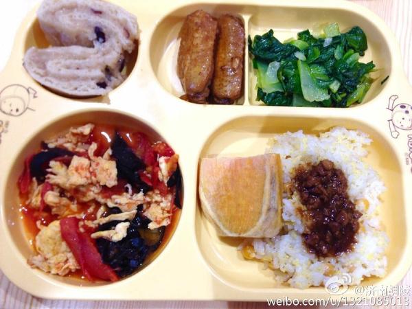 安亲班小饭桌下周食谱及食谱点评(六)_胡陵图片