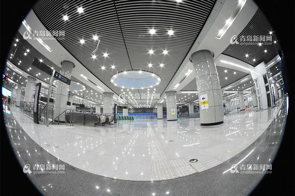 青岛地铁M3号线唯美写真 曝内部超广角美图图片