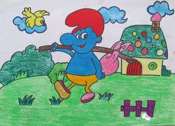 阶,57张儿歌简笔画开启孩子绘画之旅