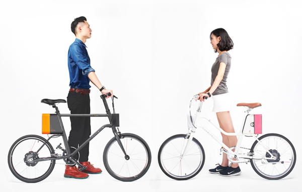 2.冲量产品,云马 c1 是为年轻人打造的电动助力自行车.图片