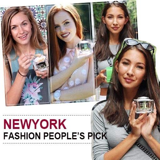 备受纽约时尚达人青睐的韩国化妆品