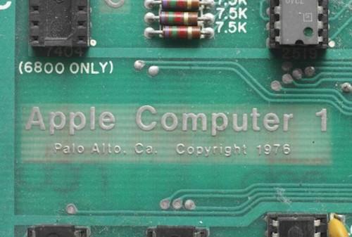 Apple 1拍卖在即(图片来自geekwire)