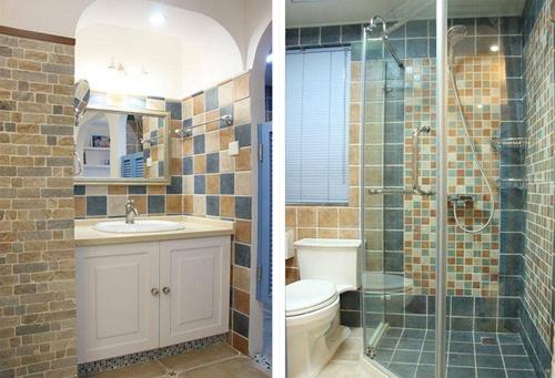 整个卫生间在装修时一定要注意防水设计.