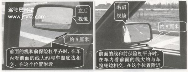 停车时,判断车体位置很重要,这个方法要记牢!