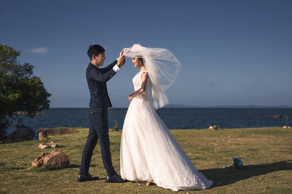 单人婚纱摄影拍照姿势图片