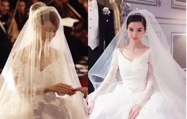 都离不开皇冠新娘发型~看