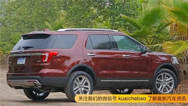 丰田普拉多笑了 福特新款探险者卖44.98 63.98万元
