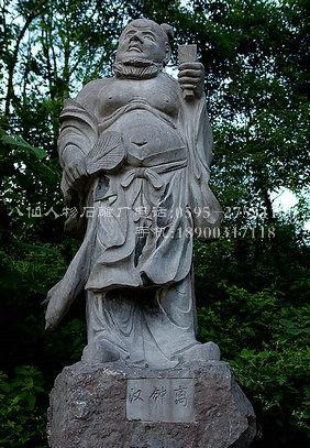 古代神话人物石雕八仙过海雕像