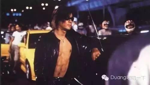 当时的香港电影,开车鏖战各条公路的英雄是郑伊健,任达华(《极速传说图片