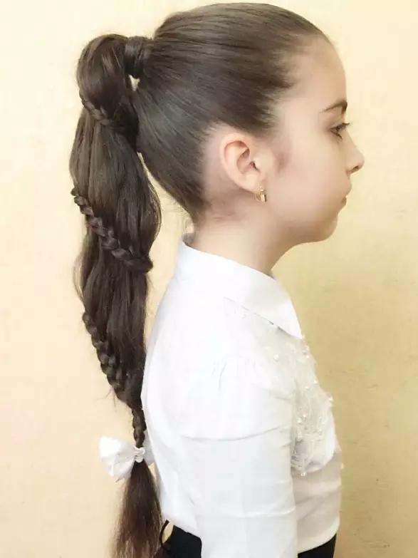 小孩编辫子发型扎法 幼儿短发扎