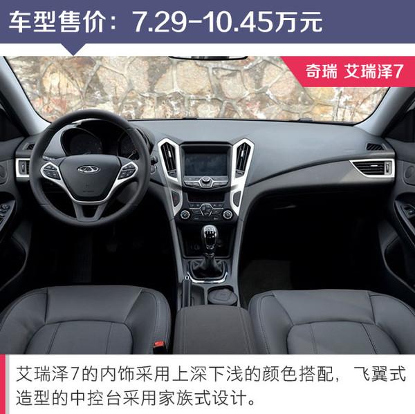 自动挡涡轮增压只要十万 三款自主紧凑轿车推荐高清图片