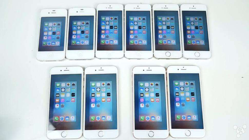 iPhone 4s/5/5s/6/6s对比: iOS 9.1快了没有?