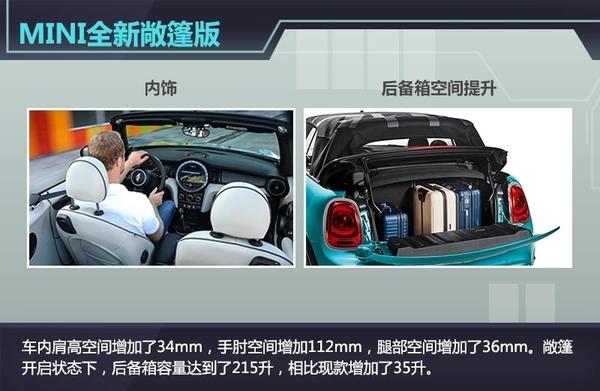 MINI全新敞篷车售价约12万起空间大幅提升_金凤凰彩票