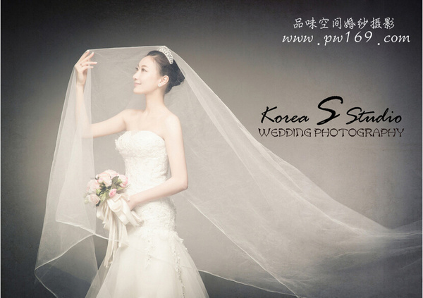 背影婚纱照_韩式纯色婚纱照拍摄秘诀