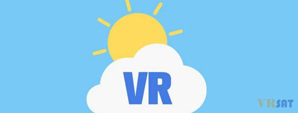 体验不同天气环境,VR天气预报APP出炉