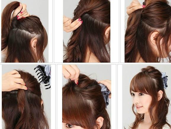 教你12種扎頭發方法,5分鐘你就能美美的出門圖片
