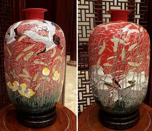 当代艺术品_女王藏品中两件精美的当代陶瓷艺术品是谁创作的?
