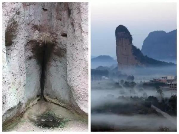 文化 正文  阳元石位于丹霞山,锦江之西,玉女峰旁,高28米,直径7米