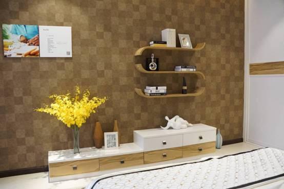 卡诺亚衣柜北欧风格电视柜-定制衣柜合理性可以节约成本