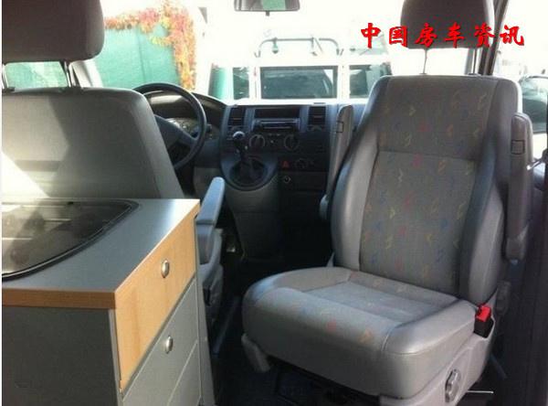 大众T5面包车改装房车 全新的房车改装体验