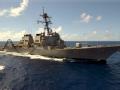 美军巡逻南海急先锋 阿利伯克级导弹驱逐舰