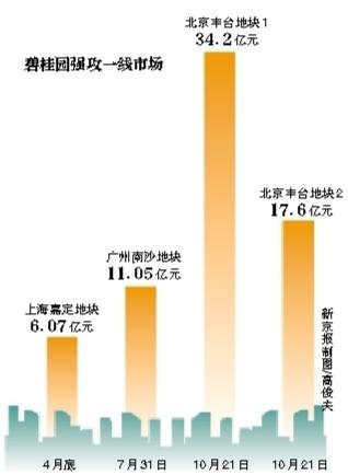 碧桂园研究腾退北京丰台地块(图)