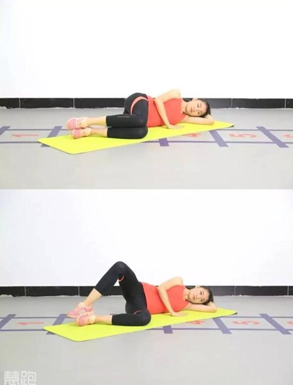 动作要领:仰卧挺髋是一个经典的锻炼大腿后群