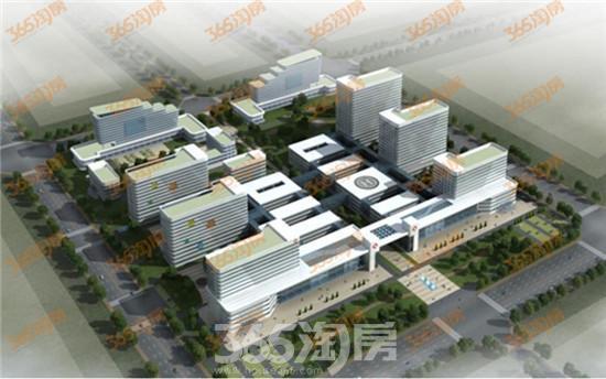 新乡市东区中心医院预计2017年下半年投入使用高清图片
