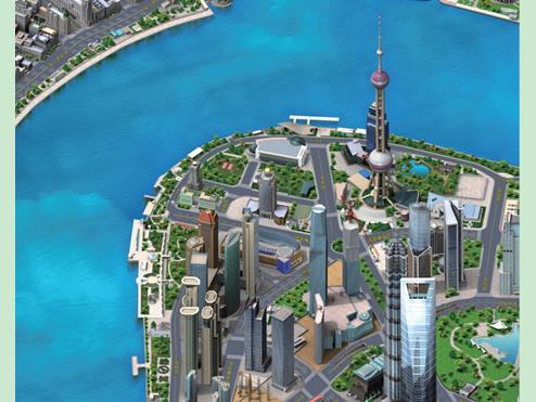 上海城市三维地图