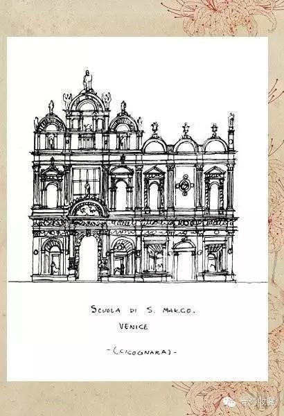梁思成珍贵建筑手稿,每一张都是艺术品!