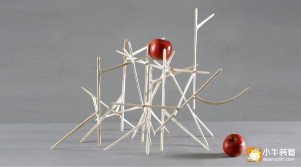 手工制作竹签支架