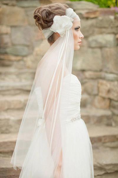 新娘头纱种类有哪些 注意挑选是关键图片
