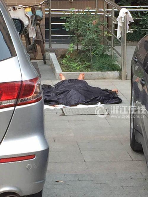 杭州一男子杀害同居女子后从11楼坠下身亡(图)