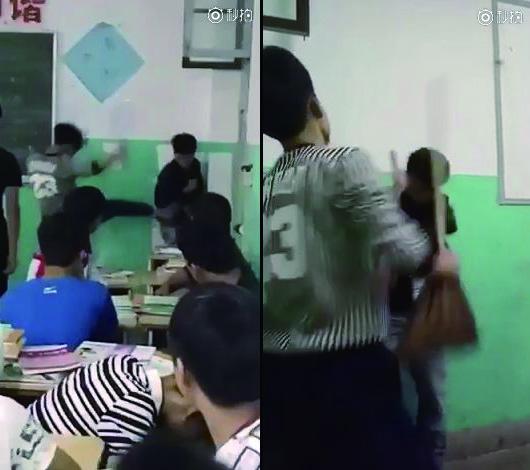 浙江男生遭多名同学群殴 校方:真诚道歉