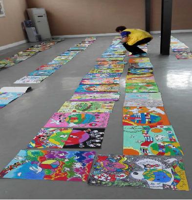 2016年度全国少年儿童世界和平海报第二赛区(广东)潮汕赛区作品评选活图片