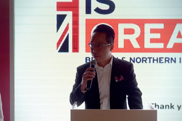 亚嘉伦玛斯集团亚洲业务拓展总监王嘉能在活动上发言