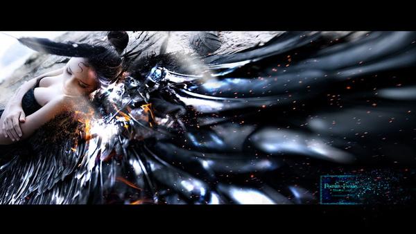 黑舞娘的重生堕天使