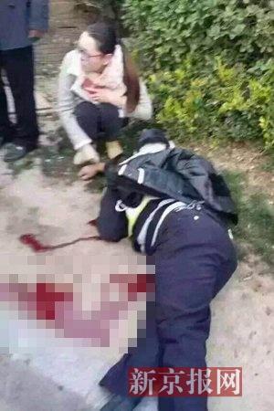 河南安阳袭警_汽车交通新闻    今早7时40分许,河南洛阳市区发生一起持刀袭警案件.