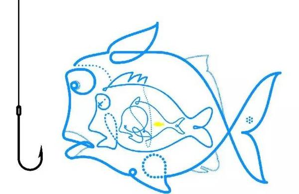 鱼 飞鱼 简笔画_鱼 飞鱼 简笔画