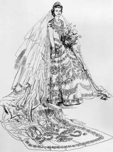 礼服蕾丝手绘效果图