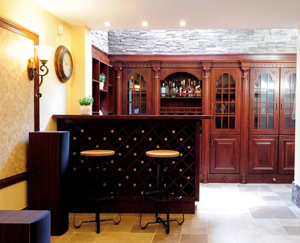 别墅豪宅设计|酒柜怎么布置最旺财?