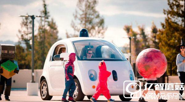 谷歌无人驾驶汽车将更智能 可辨识儿童行为高清图片