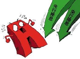 """10月26日,沪深股市面对央行再度""""双降""""的利好,小幅上涨。不过,连续阴跌数个交易日之后,11月4日放量暴涨。"""