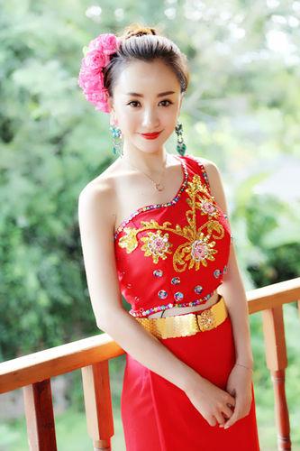 杨蓉傣族俏妹