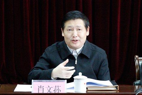 广西柳州市长肖文荪。资料图