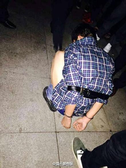 小偷體校作案遭全校圍捕 自己報警求帶走(圖)