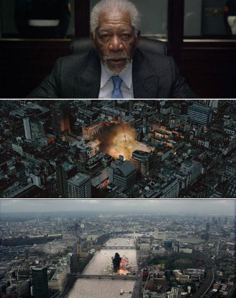 《伦敦陷落》发布了长达2分40秒的震撼预告
