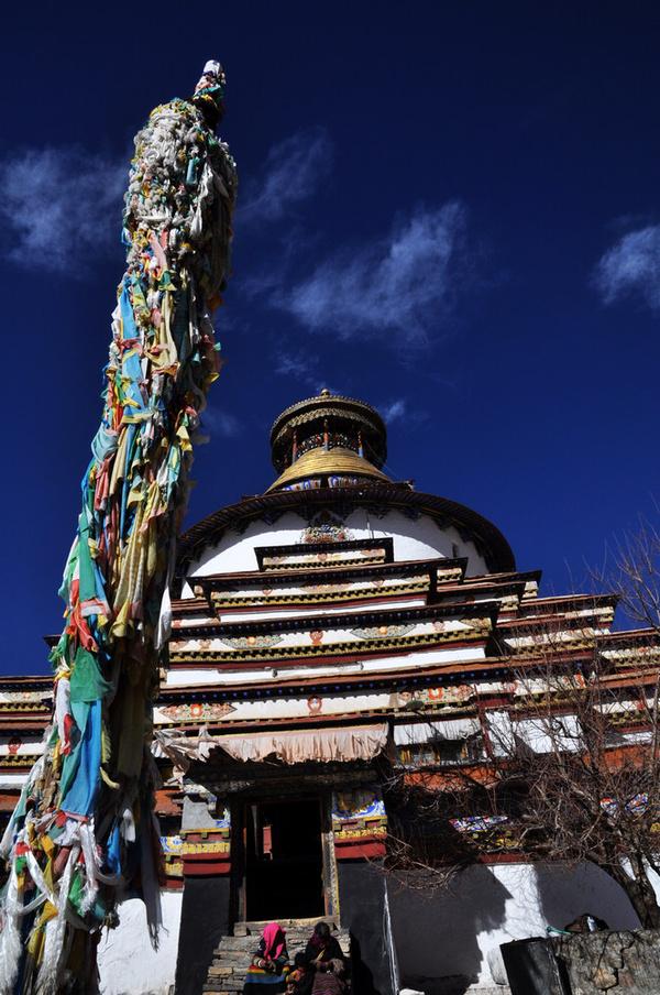 藏地密码:拉萨以西十万佛塔,一世班禅前生今生
